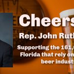 Image for the Tweet beginning: Thanks @RepRutherfordFL for sponsoring the