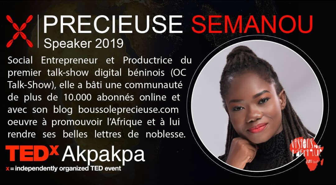 There we go! I strongly believe that « ideas are more powerful than guns » so, happy to be part of this as a speaker @Tedxakpakpa is a place to be on june 15th.For more details: https://tedxakpakpa.com/tickets/  #TED2019 #TEDx #speaker #youth #Africa #vision #Team229 #medias #brand