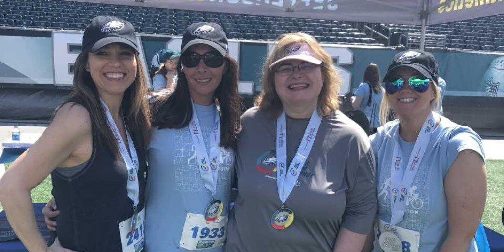 Congrats or our Team Jefferson members, from the Jefferson Stratford Hospital Operating Room, for completing the #EaglesAutismChallenge walk this past weekend! Thank you for supporting an amazing cause! @Eagles 🦅💙#WeImproveLives