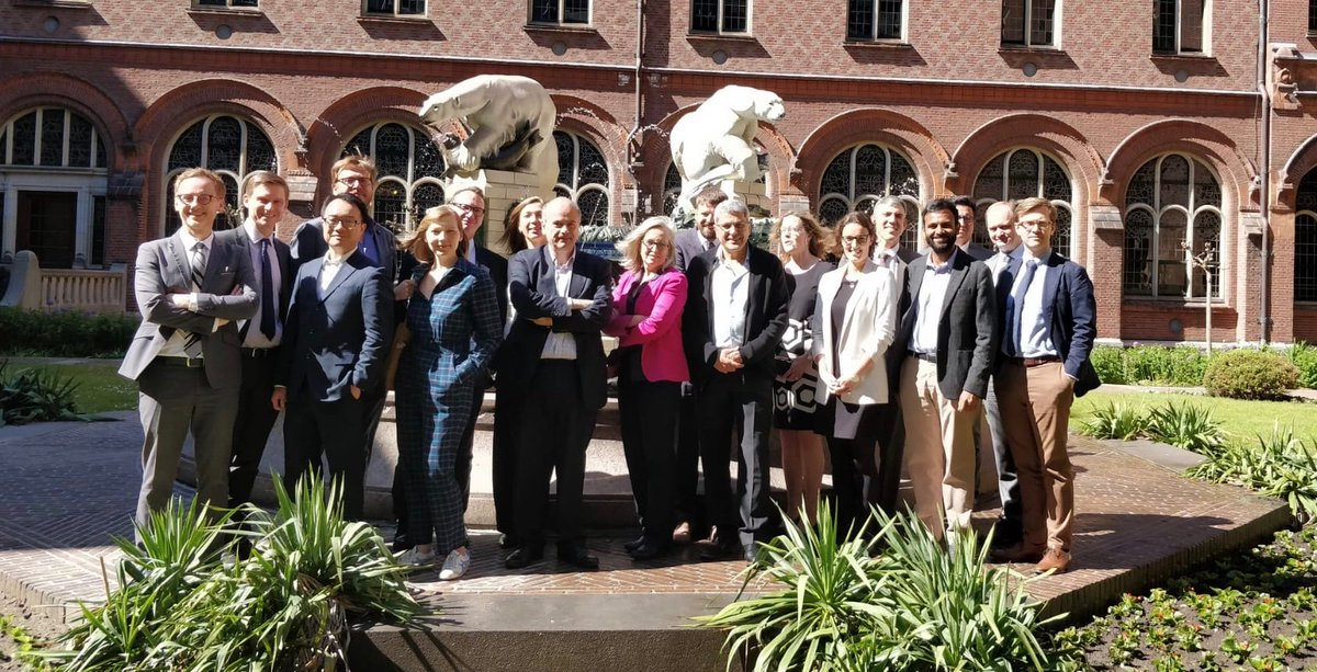 Delightful day at the International Court of Justice, where a group of lawyers and academics discussed international legal aspects of attributing cyber attacks to states and non-state actors.