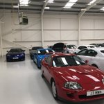 There's some sports car lineage in the workshop today...