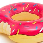 Image for the Tweet beginning: 17 Food-Themed Pool Floats You'll