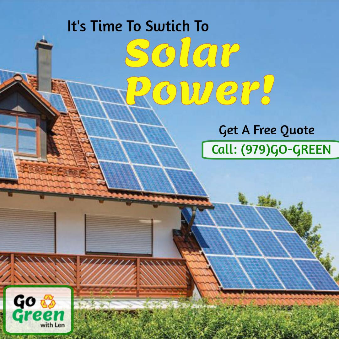 Meet the #SolarExperts in #DFW area #Texas for a FREE QUOTE for your #SolarPower Installations at the best rates. Call: (979)GO-GREEN  #solarenergy #cleanenergy #greenenergy #texaslife #dallas #irving #plano #dfwcities #dfwarea #solarpanesl #solarGNP #solarheater #usapic.twitter.com/rsFxeQo09n
