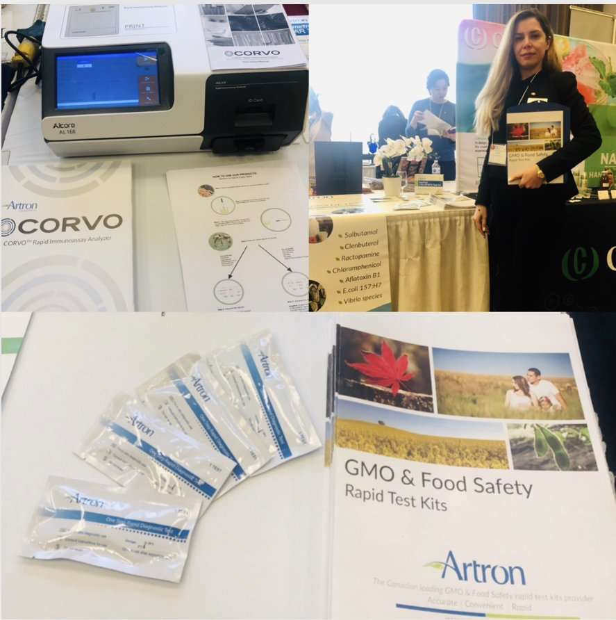 Our #BCFTSuppliersNight was a total success! A big thank you for visiting us!#GMODETECT #Artronlab #foodsafety #BCFT