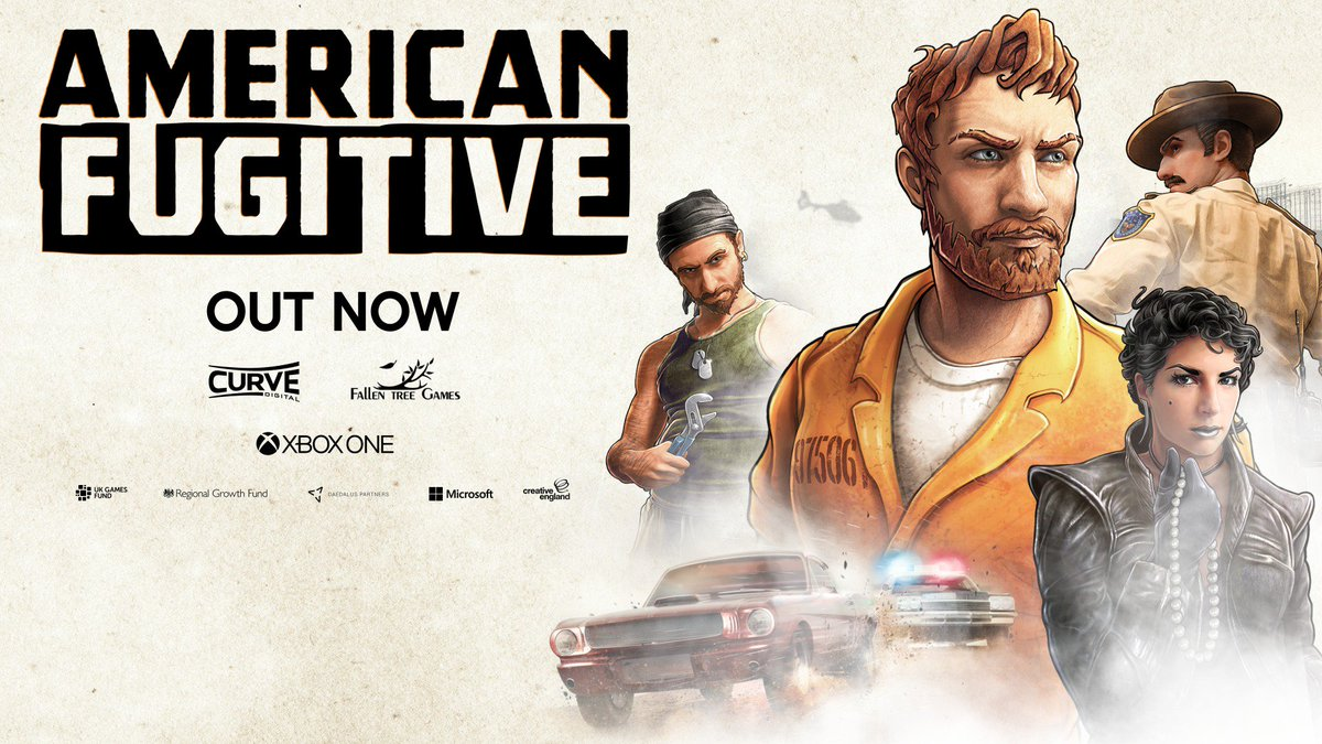 Justice is served. Speed your way to 20% savings during the launch week of American Fugitive: https://xbx.lv/2YKtkNN