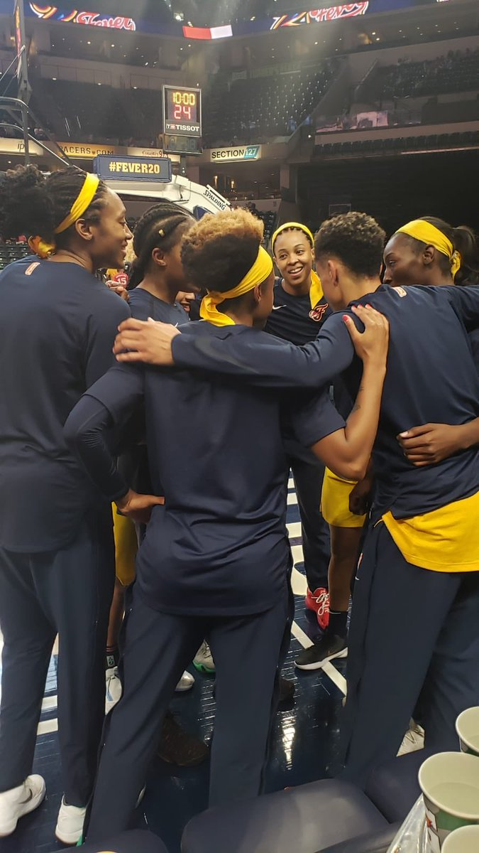 First Game of the season tonight 8pm ET NBA TV.. been waiting for today for a long time... Trust the Process.. there is only one way.. TOGETHER! #Fever20 #AllForLove Indiana Fever WNBA