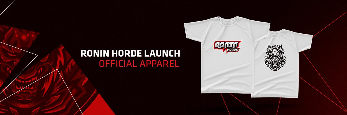 HotHotHot!! Ronin Horde merch is now available 🤩Support your favourite players directly by rocking their teams logo's and helping us provide them with all they need! 👹👹- https://roninhorde.com/ronin-horde-merch-is-finally-here/ …   #roninhorde #merch #support #fanlove