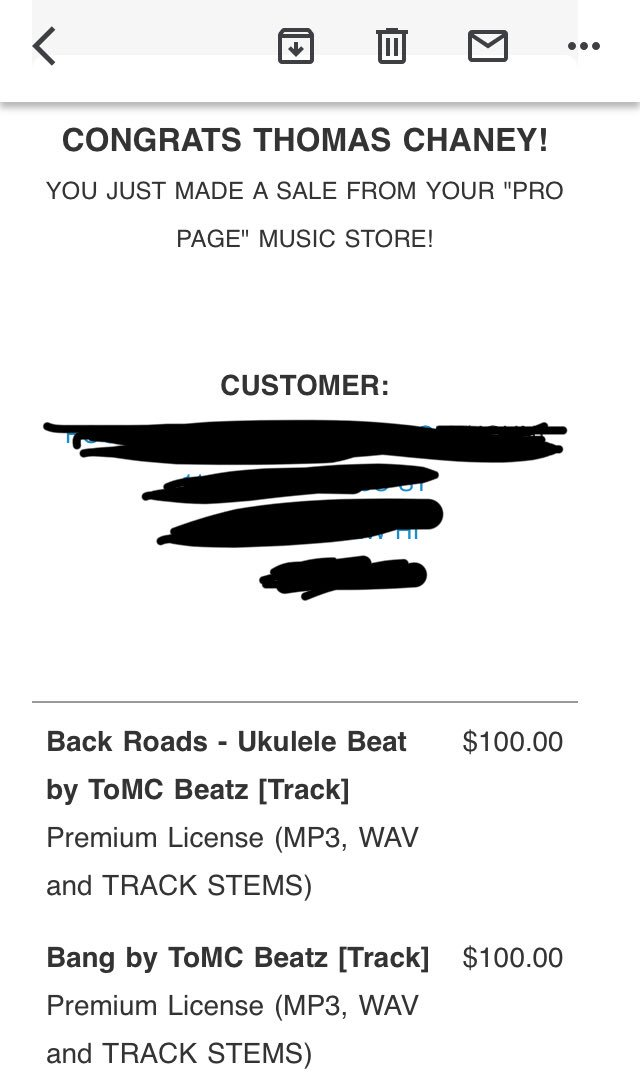🙀🙌🏽Woke up to this today! Thanks @BeatStars https://t.co/fPR2cOzu4Y