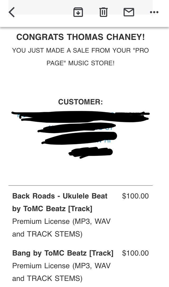 🙀🙌🏽Woke up to this today! Thanks @BeatStars