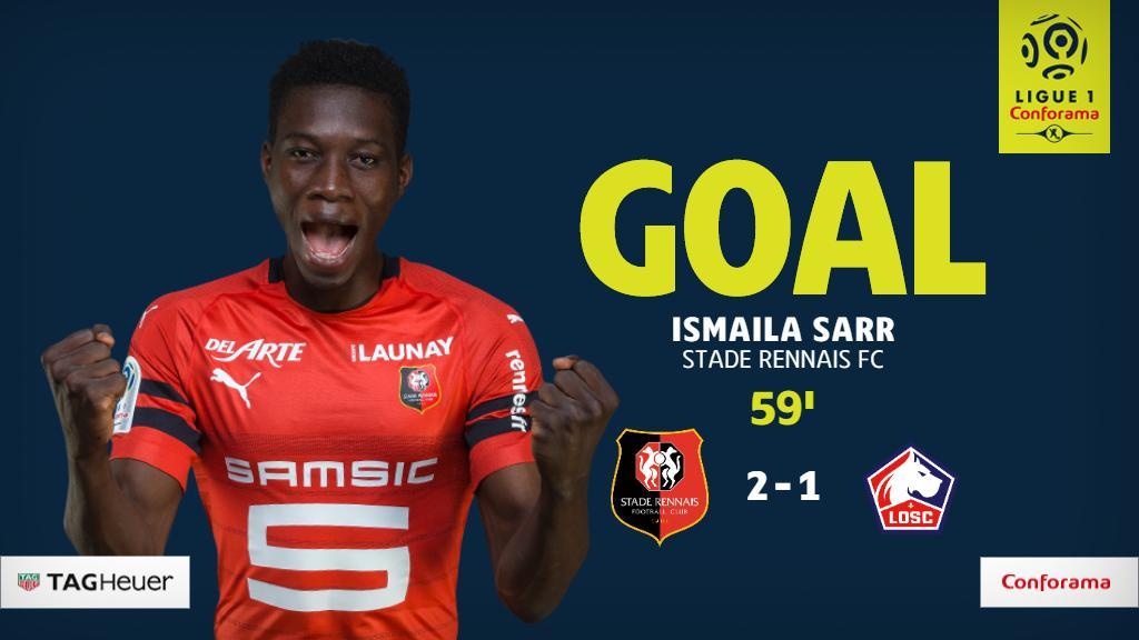 GOAL! @izosarr gives @staderennais the lead back!  #SRFCLOSC<br>http://pic.twitter.com/cpBA0gRMv5