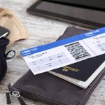 Image for the Tweet beginning: Posting your #boarding pass on