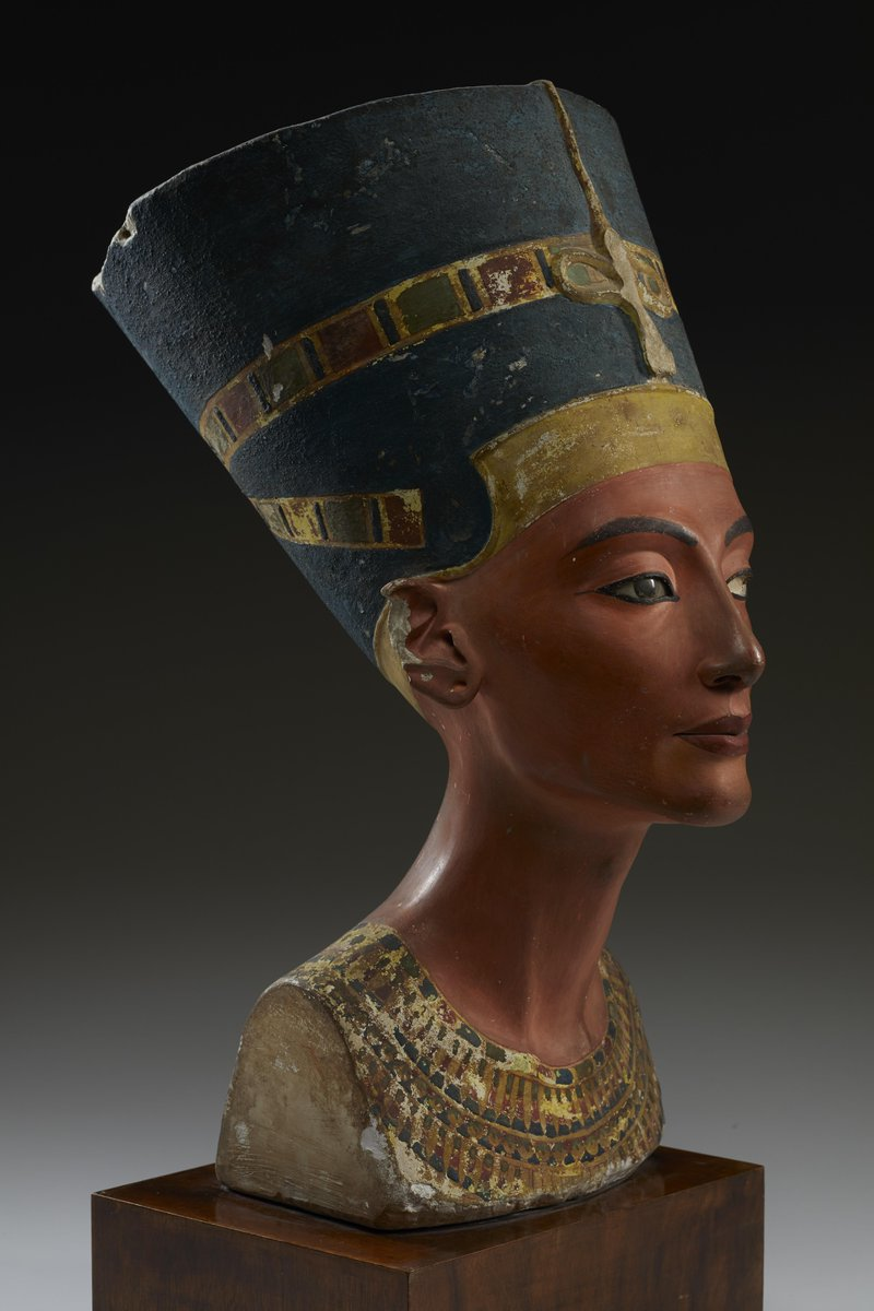 Nefertiti is a mystery. Neither her tomb nor her mummy have ever been found, and all of our knowledge about her life comes from incomplete data. She is the most beautiful question mark. Come by our #QueensOfEgypt exhibition to learn about her. http://onnatgeo.org/vV