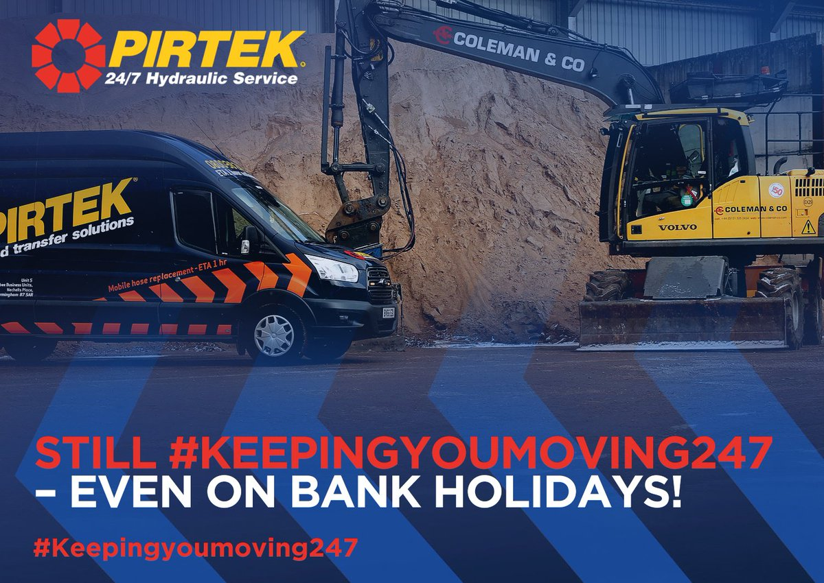Because not all businesses stop over the Bank Holiday, we offer the same great service day or night, even on Bank Holidays....  #Weworkweekends #Workingbankholiday #Keepingyoumoving247