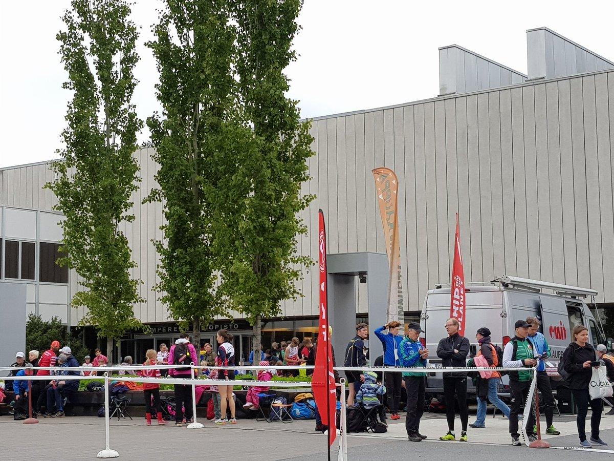 test Twitter Media - Nyt on keskustan kampusalue @TampereUni jalossa iltakäytössä! #suunnistus #sprintti https://t.co/lLvPfbIPwz