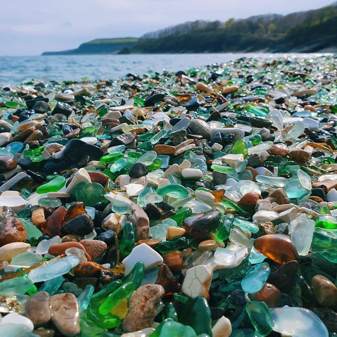 Пляж стекляшка владивосток фото стена замка
