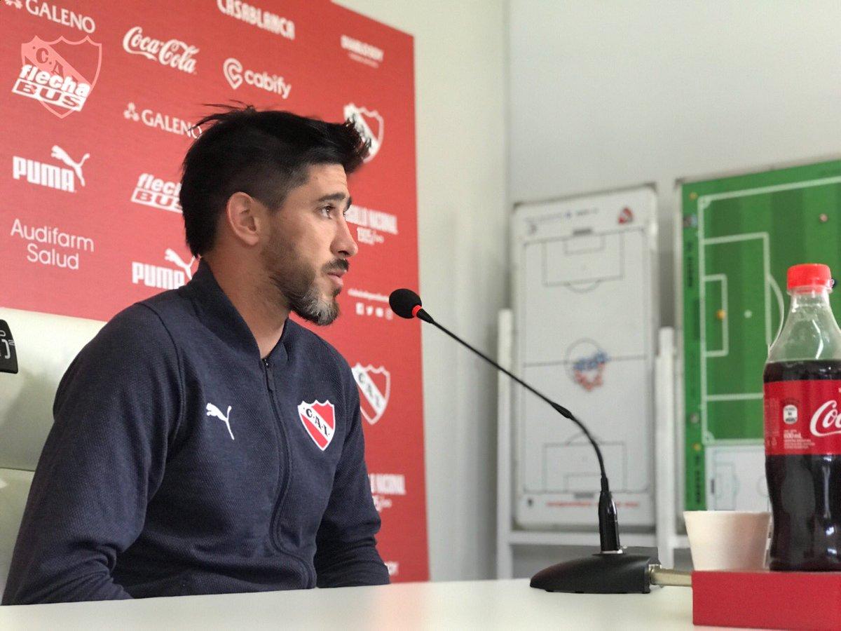 """Pablo Pérez: """"Independiente no juega bien al fútbol y atrás de eso aparecen muchas cosas"""""""