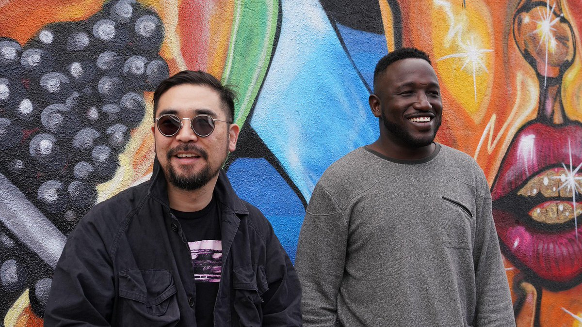 .@HannibalBuress and DJ @TonyTrimm keep last week's Chicago energy flowing with rapper @serengetidave. An all-new episode of @HandsomeRambler is now playing exclusively on #Luminary: http://bit.ly/2VZYq7l