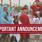 Image for the Tweet beginning: 🚨 Attention graduation guests: Due