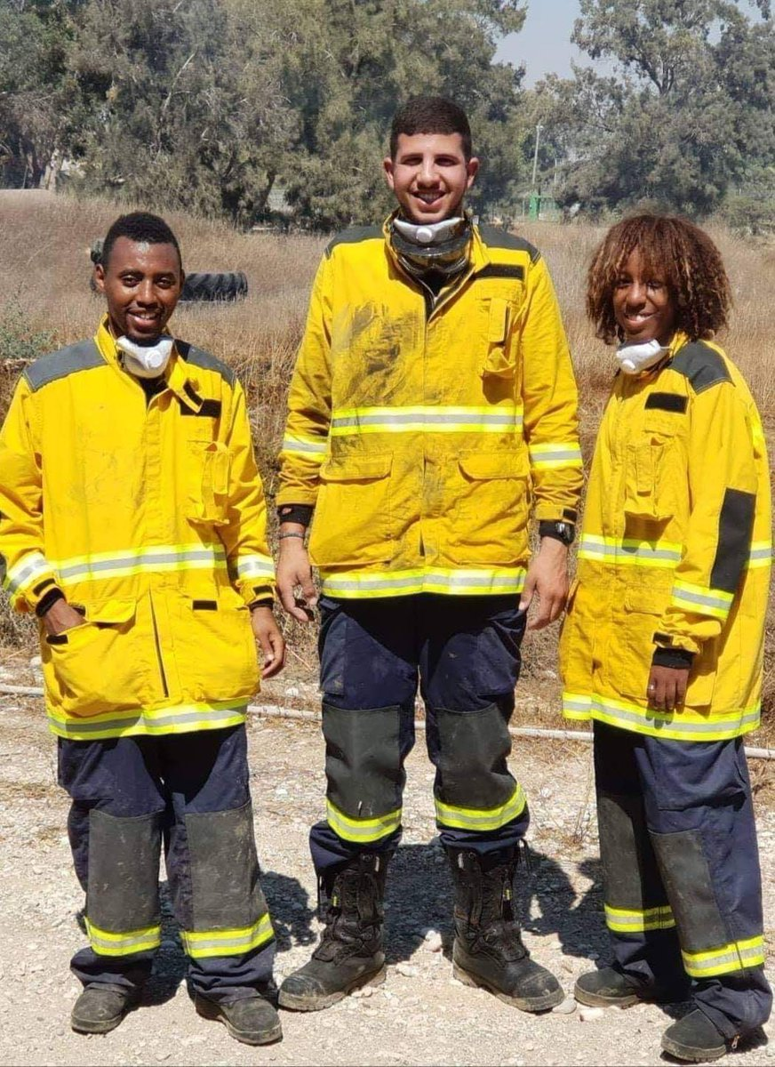 respect to the Volunteer Firefighters working in this heat