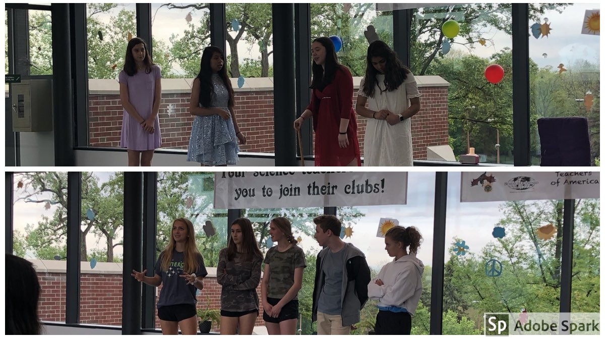 Big shoutout to @MsGwiz's second period 1H class for their Shakespeare performances on the 4th Floor Bridge today. The actors were great, and the reimagined lenses—Hunger Games and Inside Out—were creative and effective. Thanks for the invite!