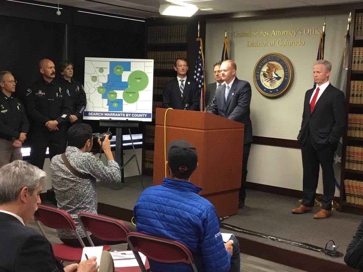 👏👏👏Great work @DEADENVERDiv and your partner law enforcement agencies--42 arrests, 80,000 marijuana plants confiscated and 4,500 lbs. of marijuana taken off the black market!