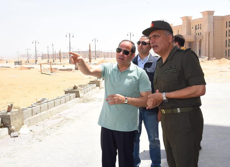 The Octagon :  مقر جديد لوزارة الدفاع المصرية  في العاصمة الإدارية الجديدة D7WPJ9IW0AASUjO