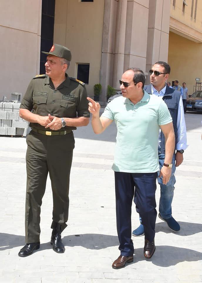 The Octagon :  مقر جديد لوزارة الدفاع المصرية  في العاصمة الإدارية الجديدة D7WPJ9MXkAEstoF