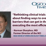 Image for the Tweet beginning: Modernizing Cancer Clinical Trials: Q