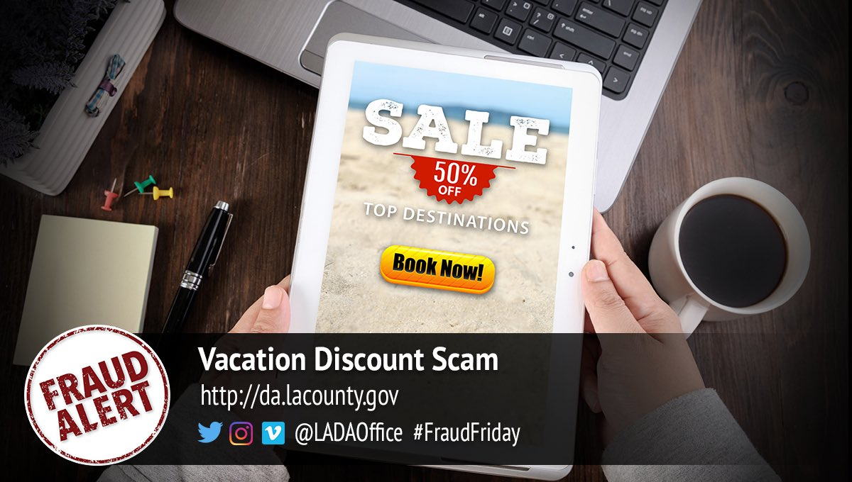 #ScamAlert just in time for #vacation season! #FridayThoughts