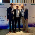 Image for the Tweet beginning: MVNOs World Conference in Amsterdam