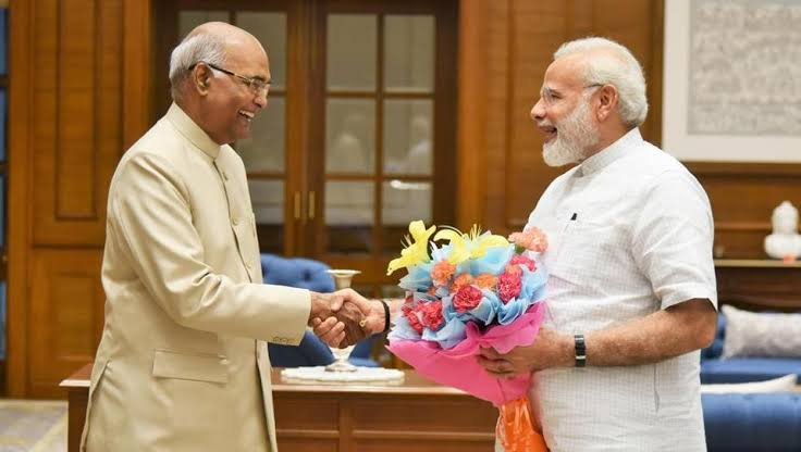 The PM Narendra Modi, met the President today and tendered his resignation along with the Council of Ministers. The President has accepted the resignation and requested Narendra Modi and the Council of Ministers to continue till the new Government assumes office.