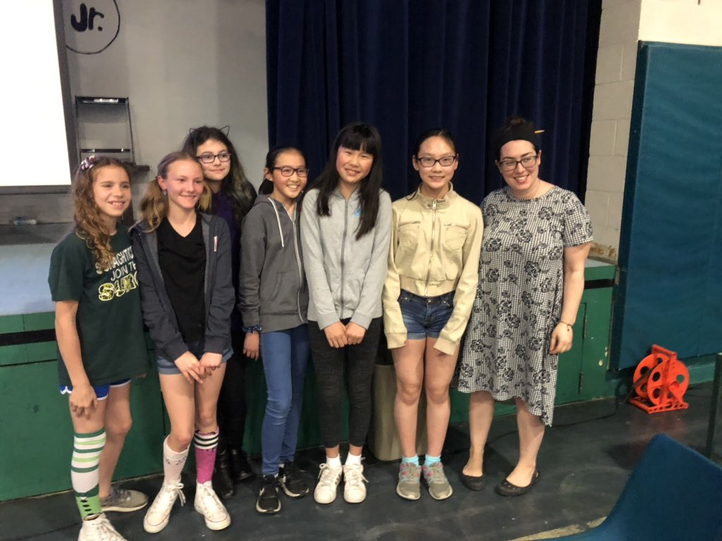 """6th Grade White """"The Bookworms"""" claimed the Battle of the Books title! @SMS_CT @DrChrisLongo @writingheroes"""