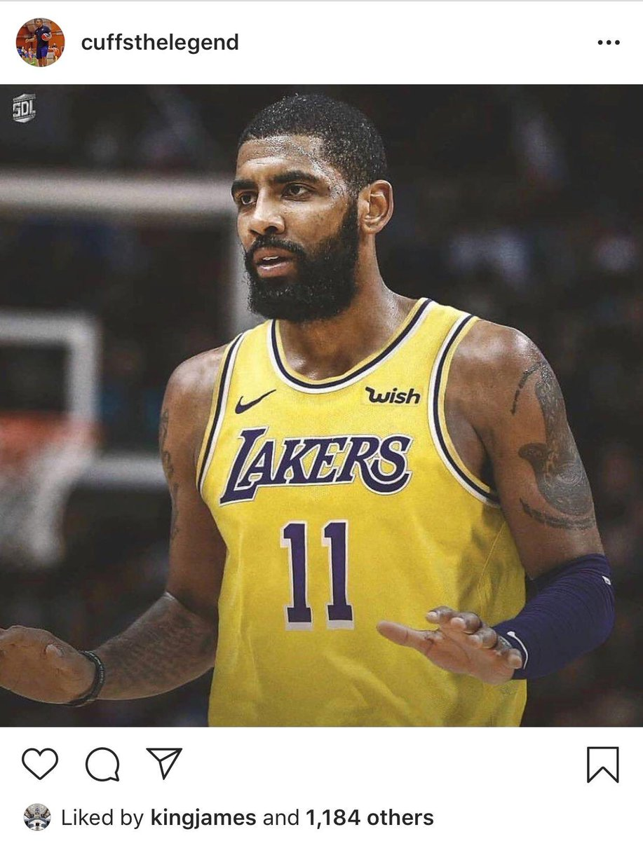 Could be something. Could be nothing. 🤷  Regardless, LeBron James liked this picture on Instagram. 👀