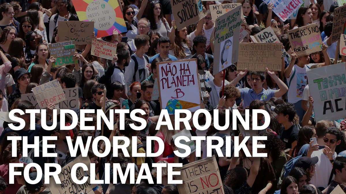 Students from 1,600 cities just walked out of school to protest climate change. It could be Greta Thunberg's biggest strike yet http://mag.time.com/pVsC6zJ