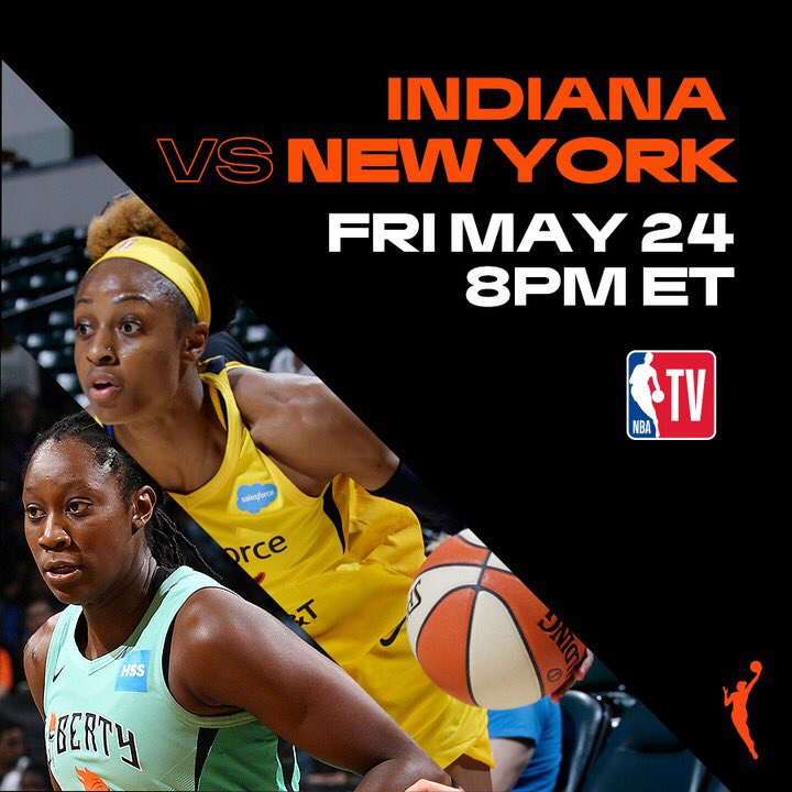 Season greetings It's #WNBA opening weekend!Tonight:@IndianaFever vs. @nyliberty  8 PM ET on @NBATV