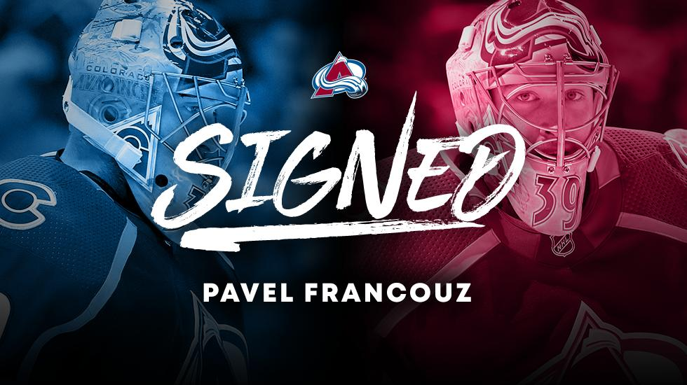 We have signed Pavel Francouz to a one-year contract.  #GoAvsGo