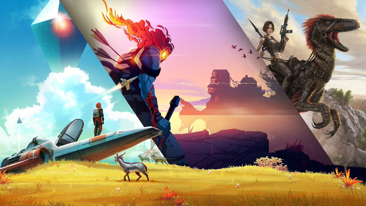 Commence Game Fest excitement! Save up to 60% on @ID_Xbox titles like No Man's Sky, Dead Cells, and ARK Survival Evolved: https://xbx.lv/30HeWI4