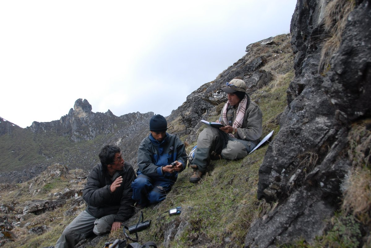 """What's one thing you should know about snow leopard conservation? """"In our part of the world, it's mainly helping local communities appreciate the animals that they have to live with all the time,"""" says Explorer Tshewang Wangchuk of the @BhutanFdn."""