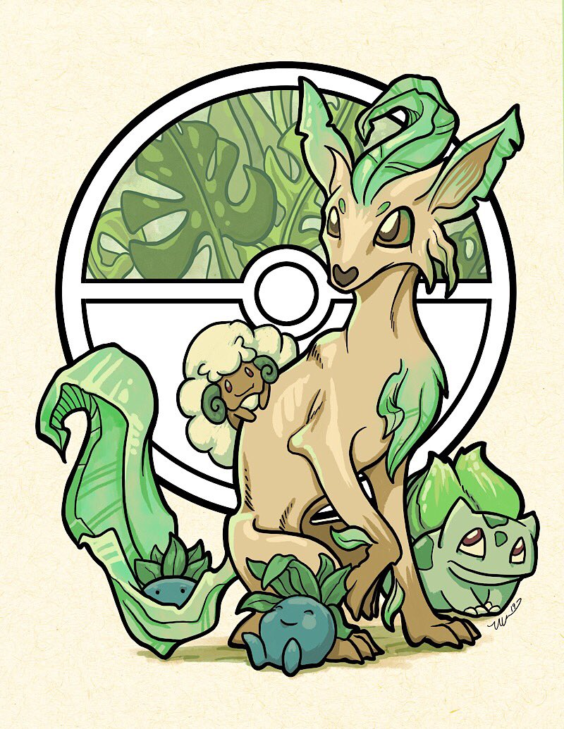 ME: Brain, you know how I mentioned there was a convention coming up. BRAIN: Uh-huh. ME: And there was stuff we needed to get done. BRAIN: On it. ME: Really? BRAIN: Definitely. ME: Because you seem to be drawing Pokémon instead. BRAIN: woo Oddish!<br>http://pic.twitter.com/Xix5cH8IOQ