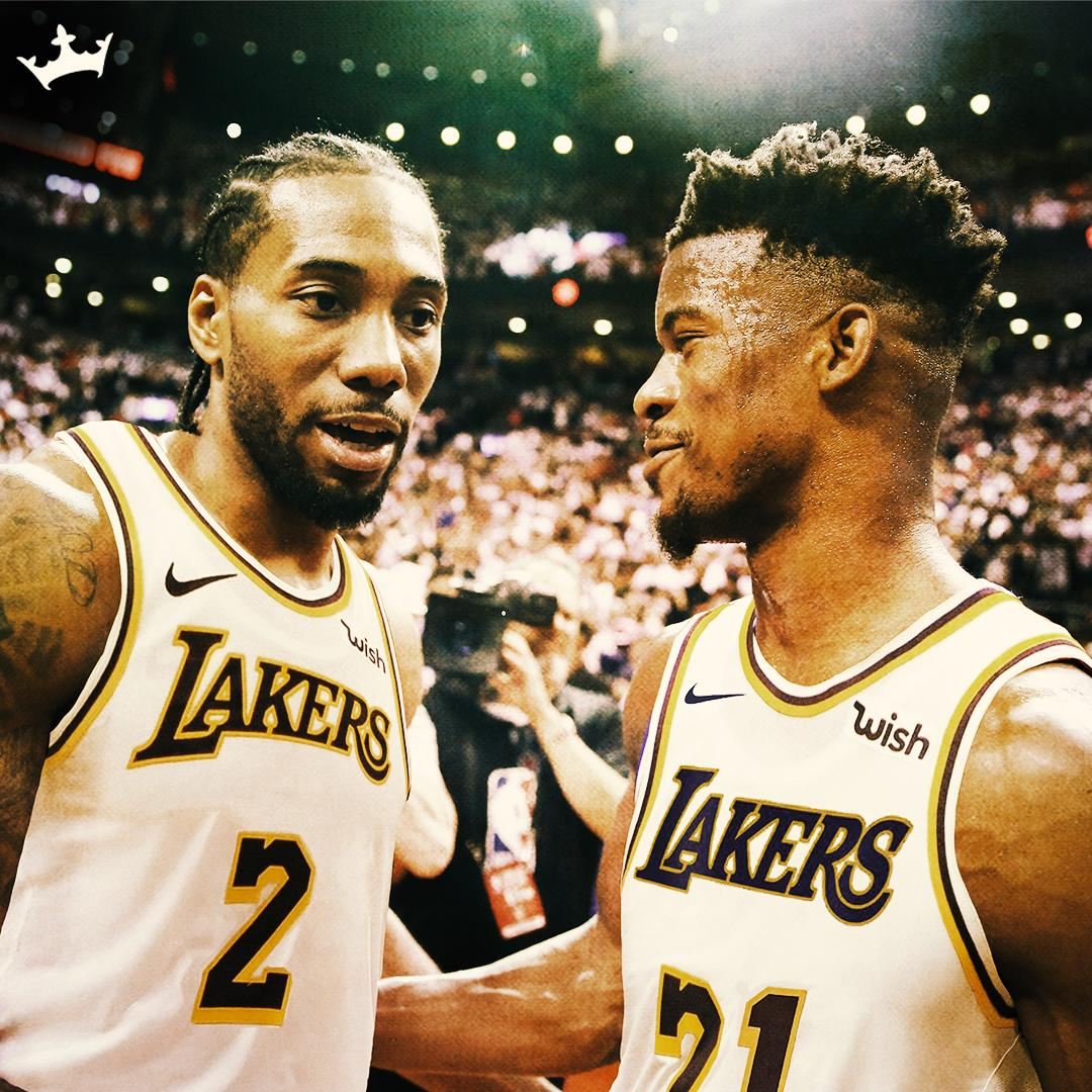 He's making calls... Could Kawhi & Jimmy Butler team up with LeBron on the Lakers?