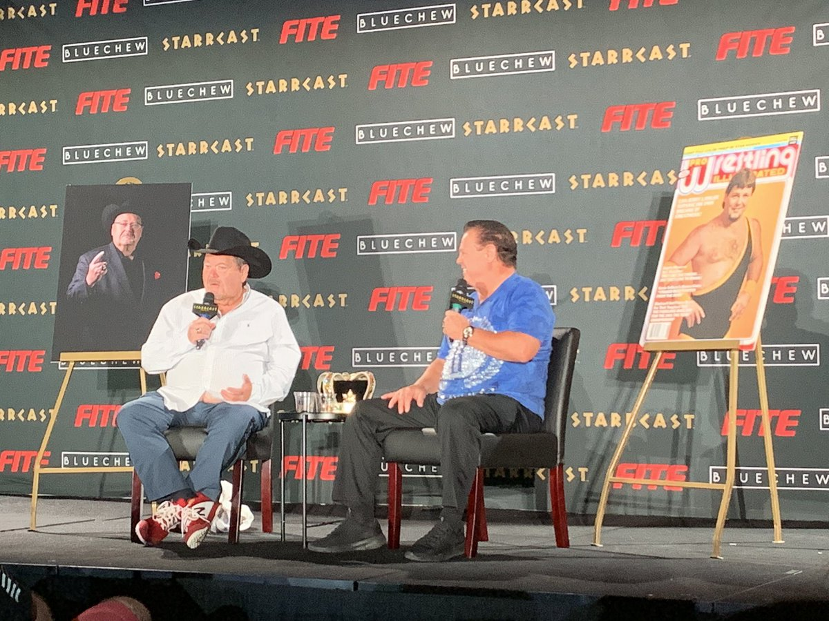 """""""Jerry's contract is coming up for renewal. I'm gonna be recruiting him."""" -@JRsBBQ #STARRCAST"""