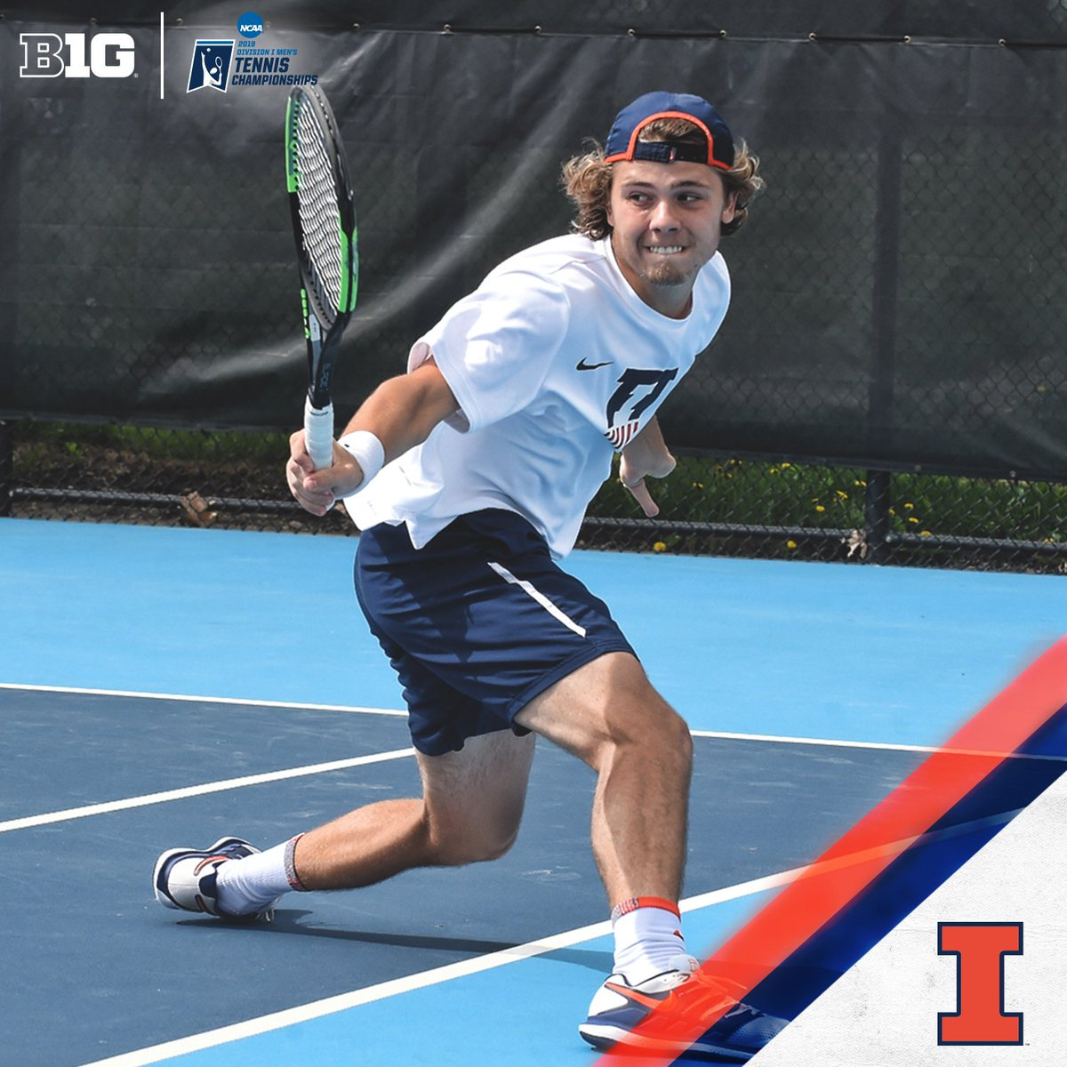 Following a three-set victory Thursday night, Aleksander Kovacevic is the third @IlliniMTennis student to advance to the @NCAATennis Tournament semifinals in program history. #B1GMTennis