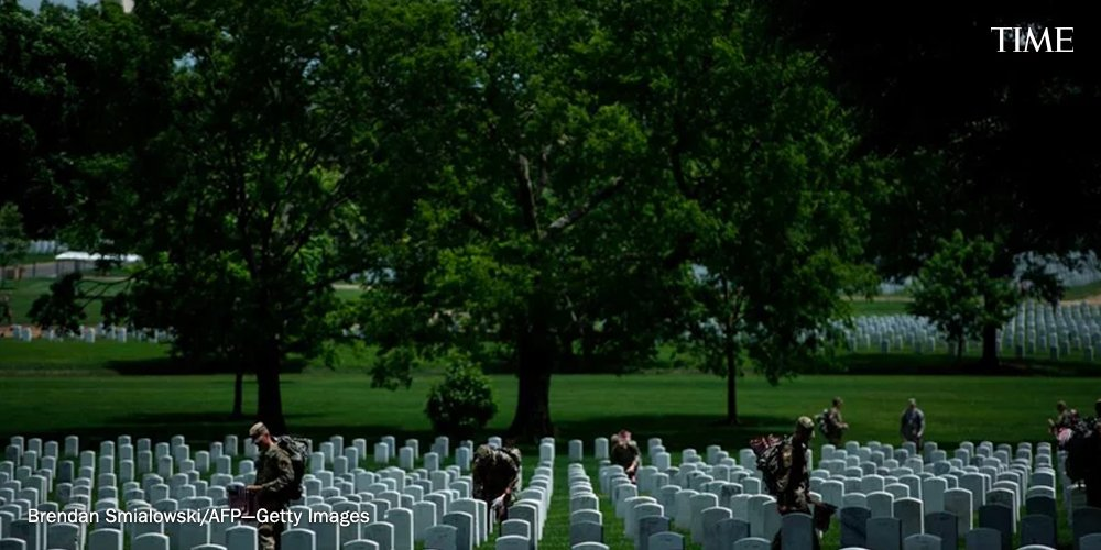 """How Arlington National Cemetery became the resting place for America's """"heroic dead"""" http://mag.time.com/39Q78eD"""