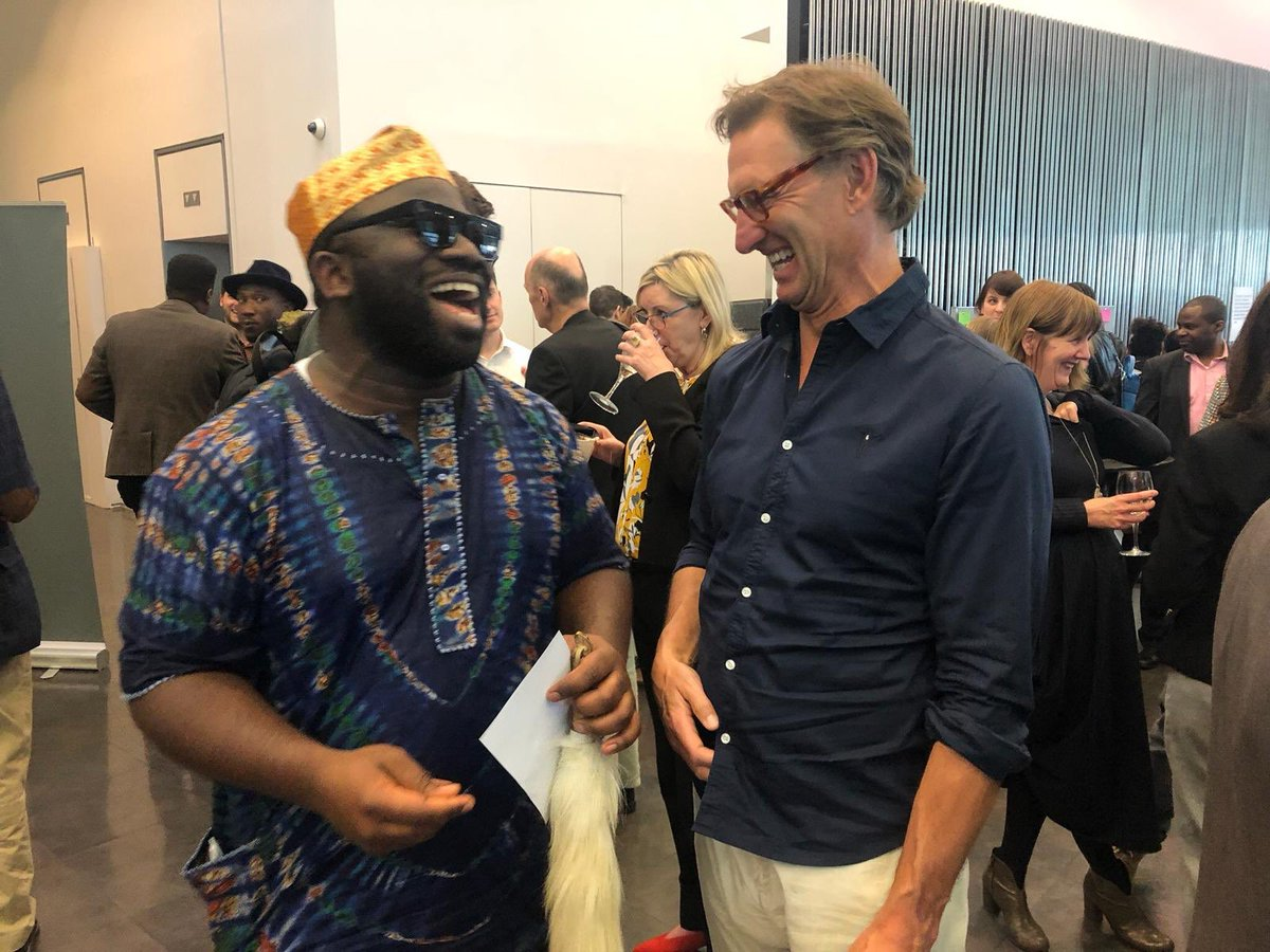 Just me and our Greatest Captain @TonyAdams bantering away at the Kwibuka 25 event in London.   Happyness is free mehnnn. Positive vibes only .  #arsenal #tonyadams #afc #coyg #gooner #gunner #nigeria #naija<br>http://pic.twitter.com/AlGrjaoCNg