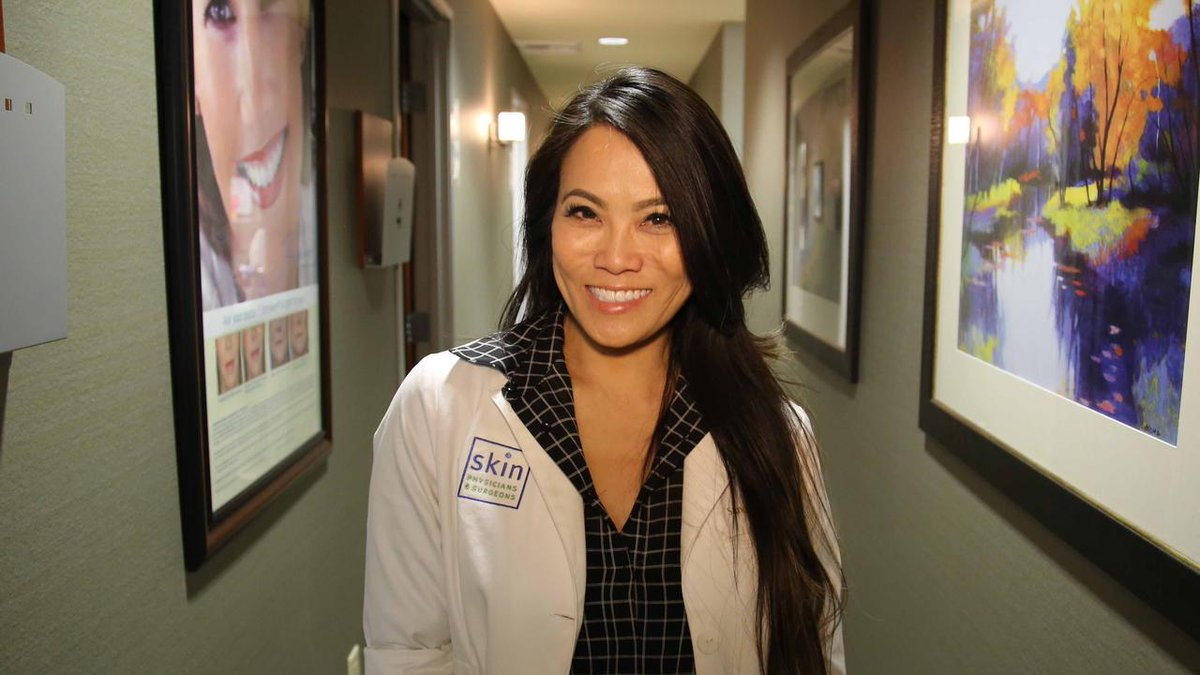 Image for the Tweet beginning: Dr. Pimple Popper is known