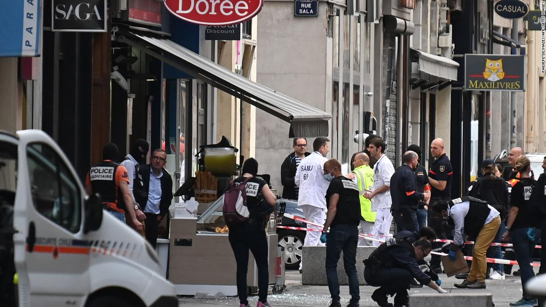 French officials have opened a terror investigation into the explosion in Lyon that injured at least seven people https://cnn.it/2HzhU9K