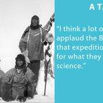 Image for the Tweet beginning: Robert Falcon Scott. Roald Amundsen.
