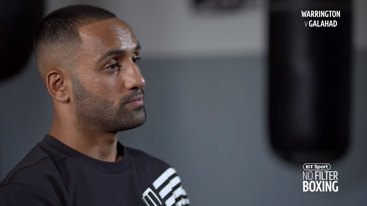"""Warrington and his dad say you should have been banned from the sport. What do you think of that?"" 🤔  Kid Galahad speaks out on two-year ban in episode 20 of #NoFilterBoxing ➡️ https://www.youtube.com/watch?v=kUwEBOg3pxM …"