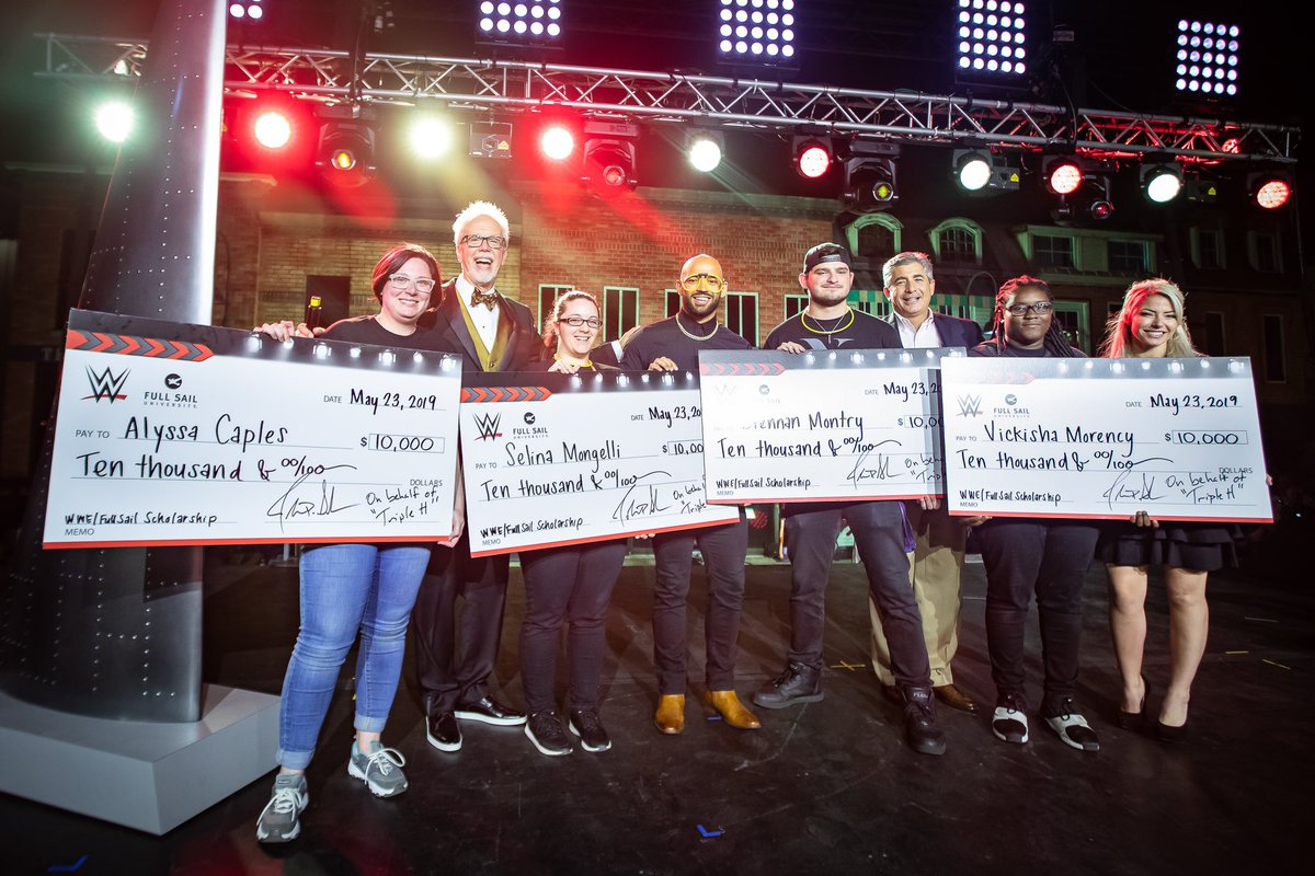 WWE Awards Scholarships To Full Sail Students, Triple H Comments