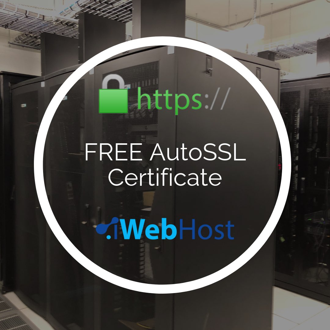 Free AutoSSL - Web Hosting - Domain Names